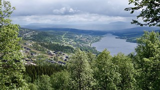 View from Åre Mountains | by Nikodemus Karlsson
