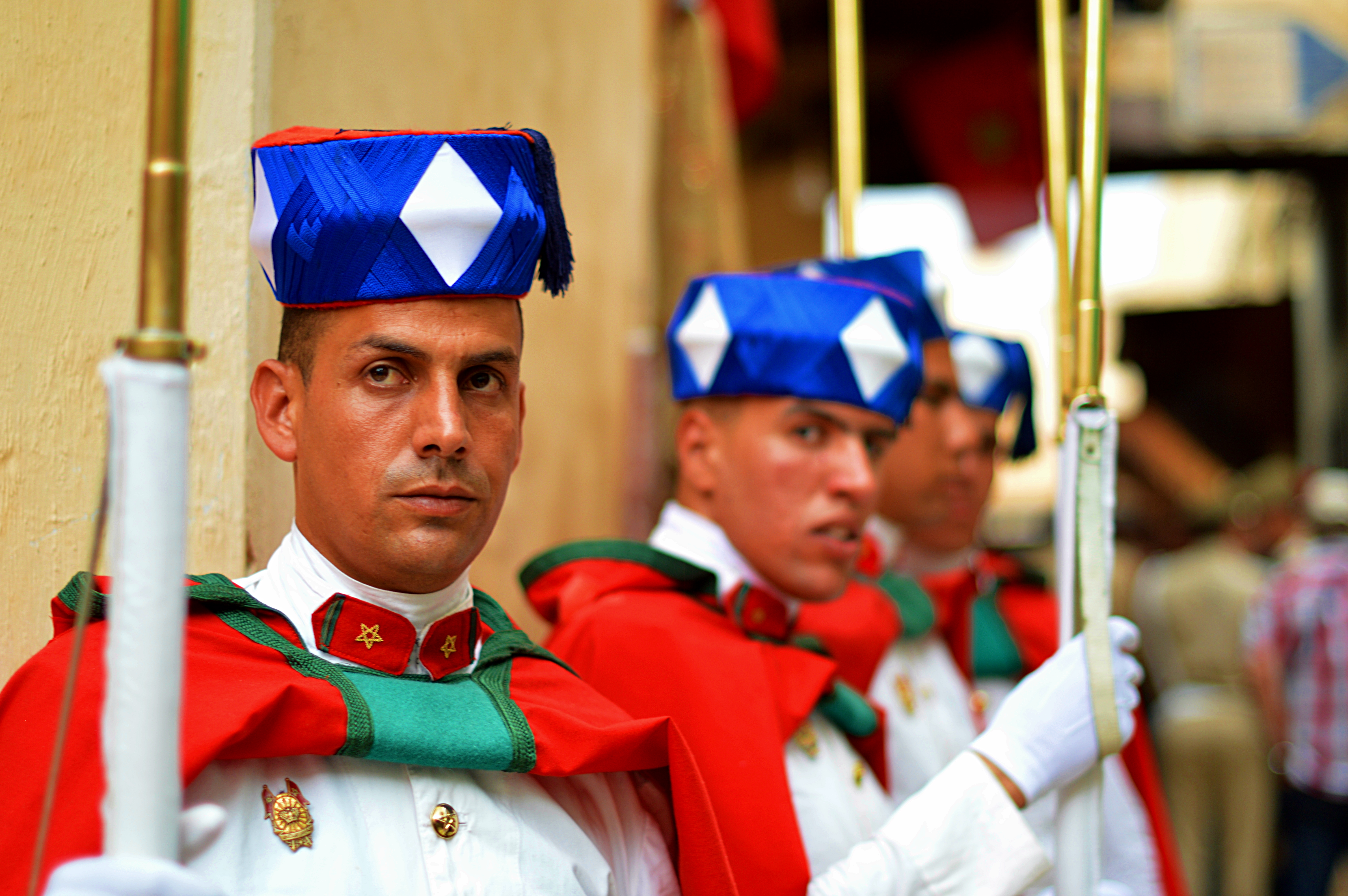 La Garde Royale Marocaine / Moroccan Royal Guard - Page 13 34071625513_81a7fdc53f_o_d