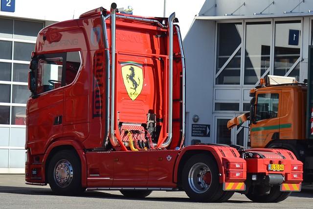 Scania V8 - Ferrari  Hjørring - DK  BL 51 041