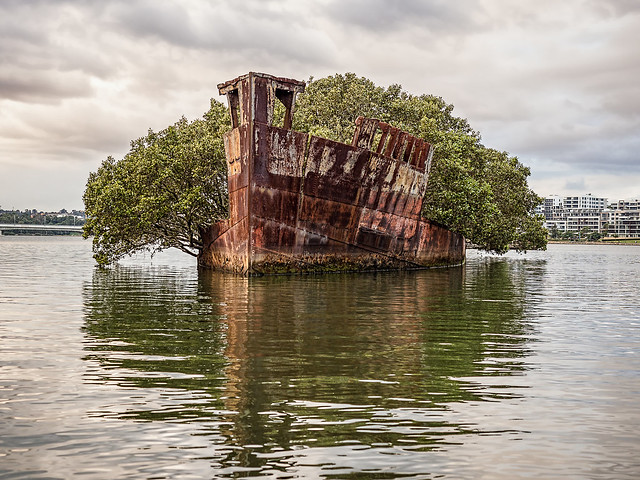 SS Ayrfield Shipwreck HDR