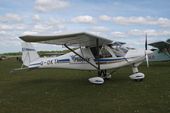 G-OKTA Ikarus C42 Popham 210517