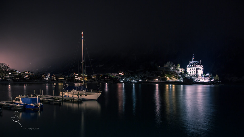 Night mood - Iseltwald | Thank you for visiting my Fotostrea