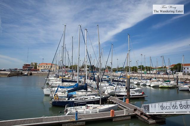 Docks near Belem Tower