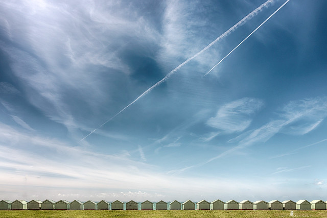 Beach huts .... #photographlikeathief