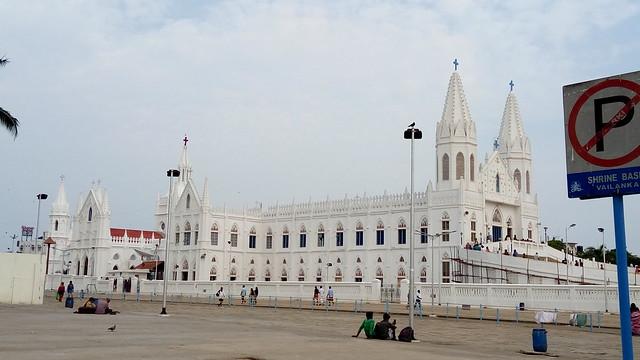 Velankanni Church (Side view)