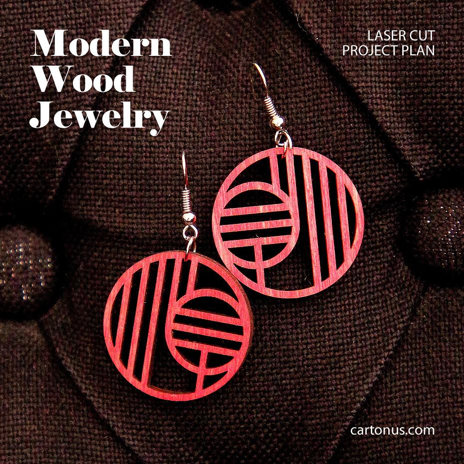 Art-deco earrings | >> cartonus com/jewelry/ Project plan fo
