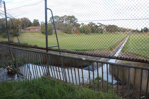 Box Forest Rd flood retarding basin - 100 photos of Merlynston Creek