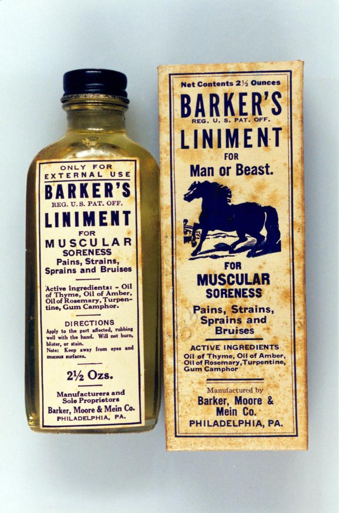 Patent Medicines & Liniments   Located in the FDA History Va