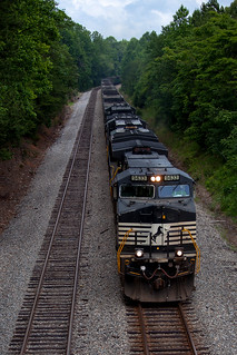 NS WB Coal Empties - Green Bay, VA | by T-3 Photography