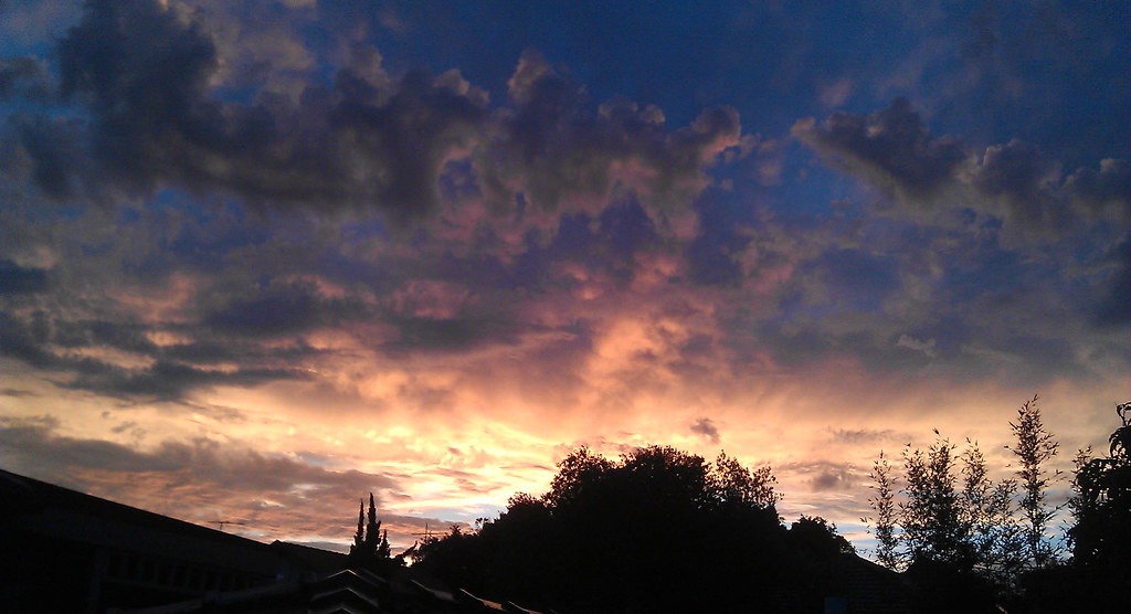 Sunset over KIngsford, NSW