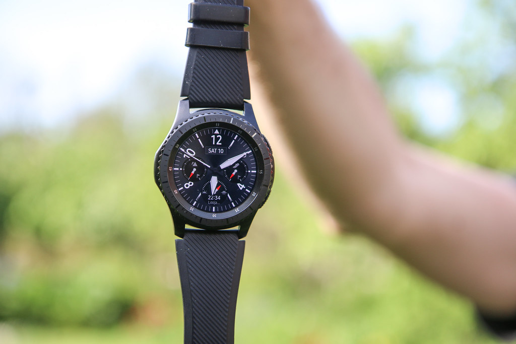 Samsung Gear S3 frontier smartwatch | Andri Koolme | Flickr