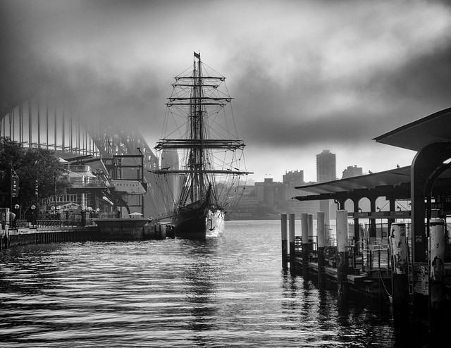 Tall Ship mono [Explore June 12, 2017 #470]