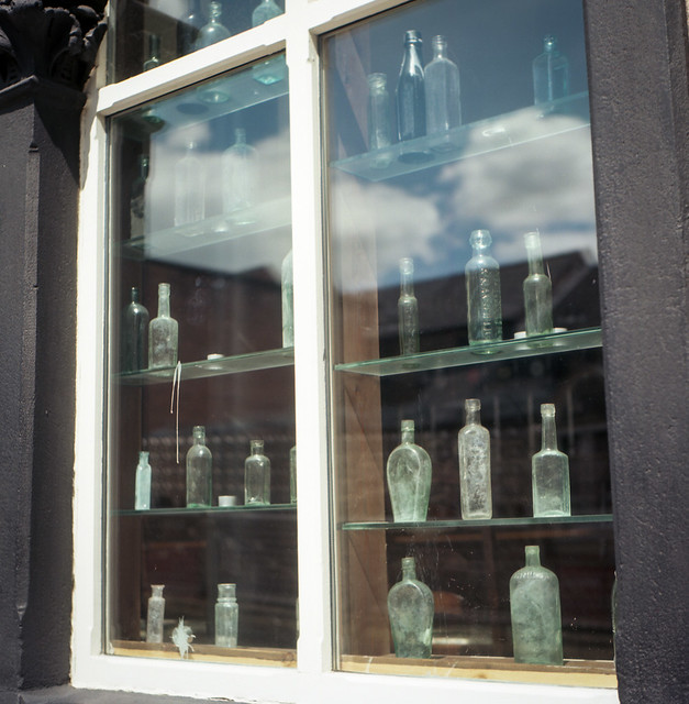 FILM - The Old Chemist window