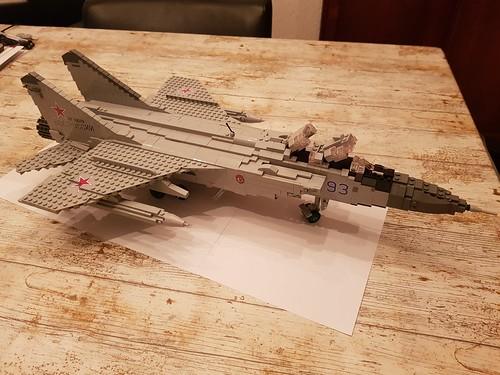 Mikoyan MiG-31BM Foxhound - 1