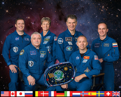 Expedition 52 Crew Portrait | by NASA Johnson