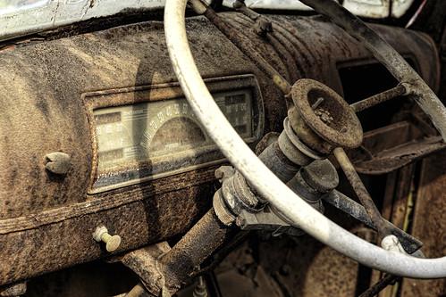 6d automobile automotive cars ef2470f28l easttexas naturallight outdoor rusty summer texas transportation trucks weathered antique historic topazlabs beautiful steeringwheel