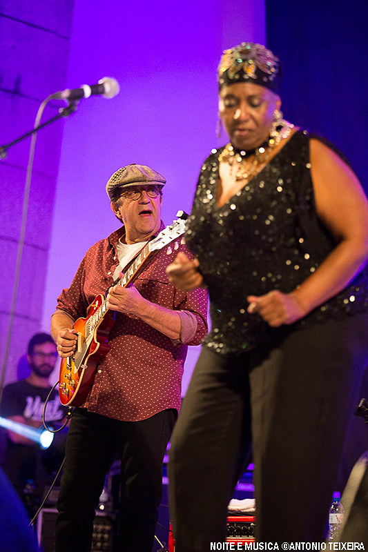 Shirley King e Rui Veloso - Porto Blues Fest '17