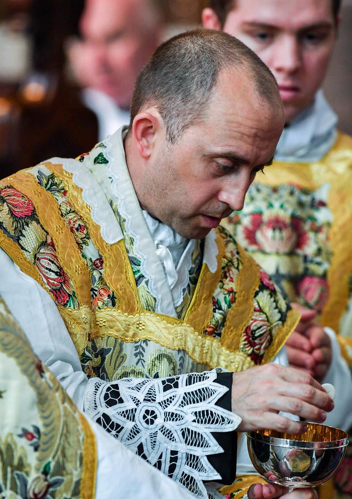 First Mass of Fr Alex Stewart, FSSP -- External Solemnity of ...