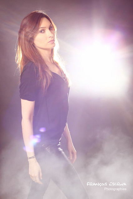 Sparkling woman