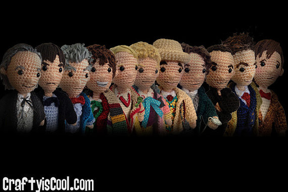 10 FREE Doctor Who Patterns For Mega Fans | Top Crochet Pattern ... | 380x570