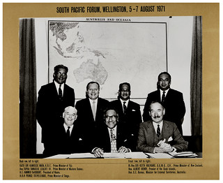 South Pacific Forum, August 5, 1971, Wellington