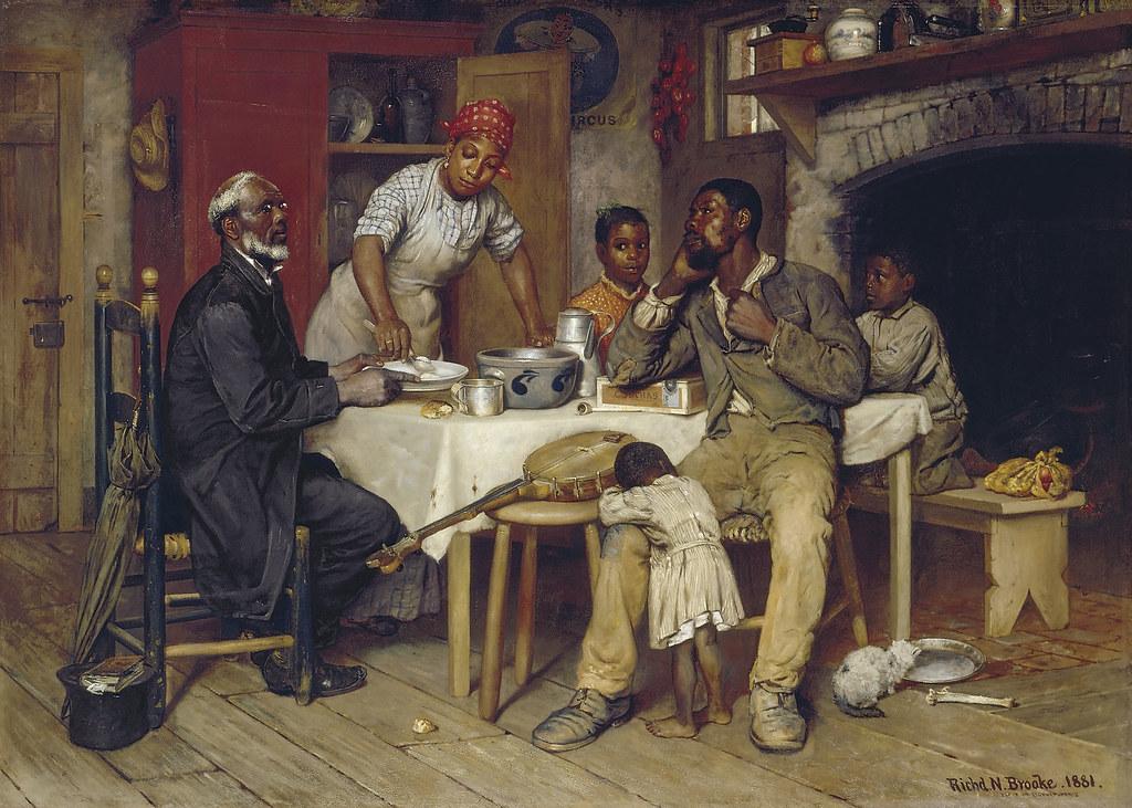 Richard Norris Brooke A Pastoral Visit 1881 Richard
