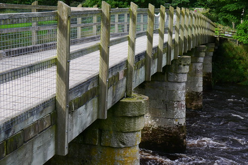The Wooden Bridge near the Cavendish Pavilion, Bolton Abbey Estate | by pluralzed