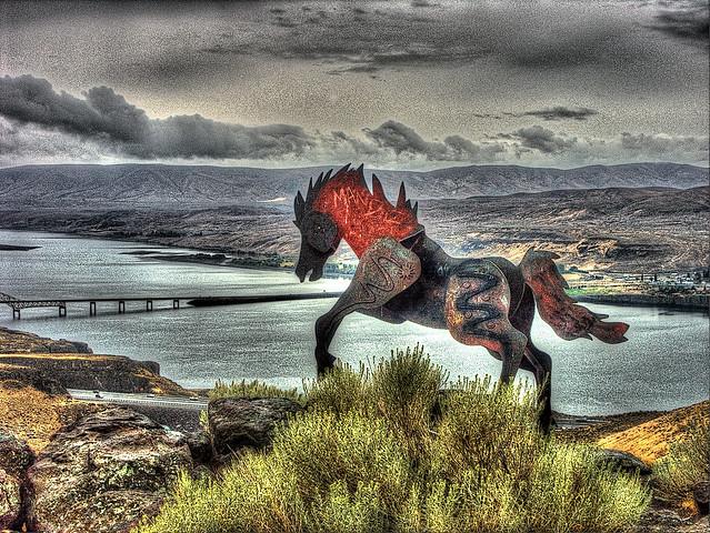 Wild Horse Monument, Vantage