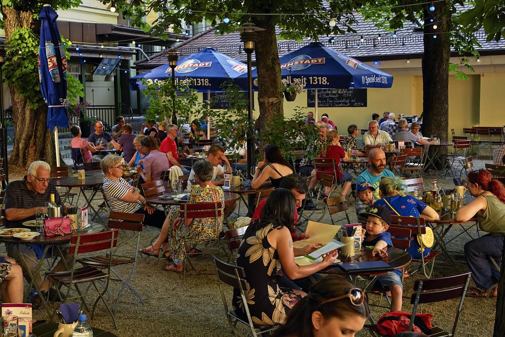 Biergartenzeit Passau Biergarten Niedermayergarten Am Flickr