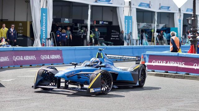 Retour au stand Formule E - Nicolas Prost - Renault eDams