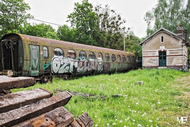 Le  wagon 2eme classe tagué DxOFP LM+35 1002805