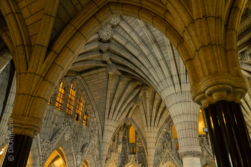Interior of the Canadian Parliament