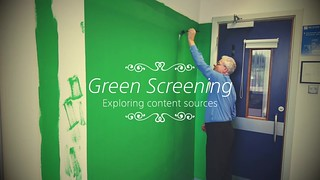 First painted green screening in Clonmel
