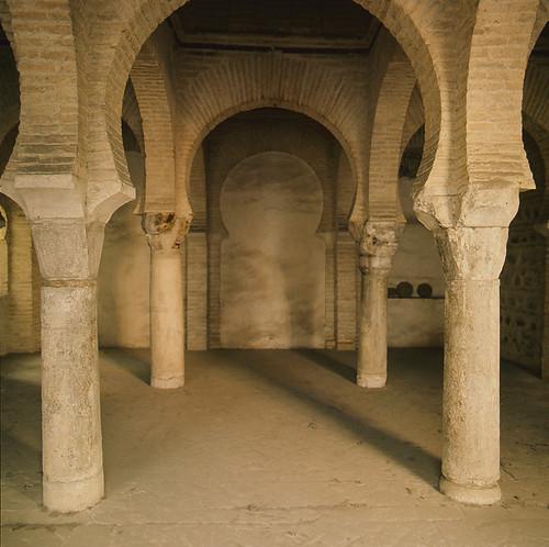 Mezquita de Tornerías en Toledo en los años 50. Fotografía de Nicolás Muller  © Archivo Regional de la Comunidad de Madrid, fondo fotográfico