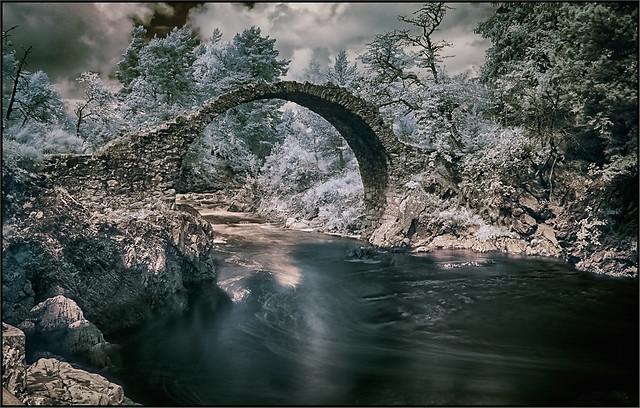 Old Bridge in Carrbridge