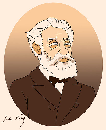 Jules Verne | by Mike Riley