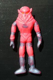 Mini Bendable Space Marauder - Xodiac  (Toy House 1960's)