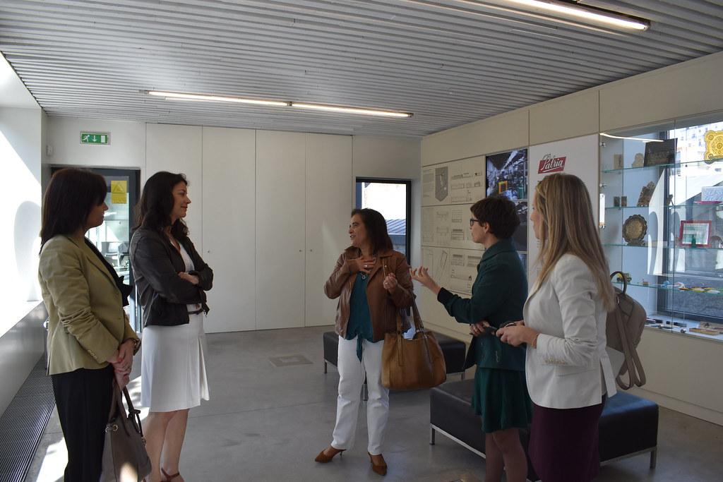 Visita da Chefe da Representação da Comissão Europeia em Portugal