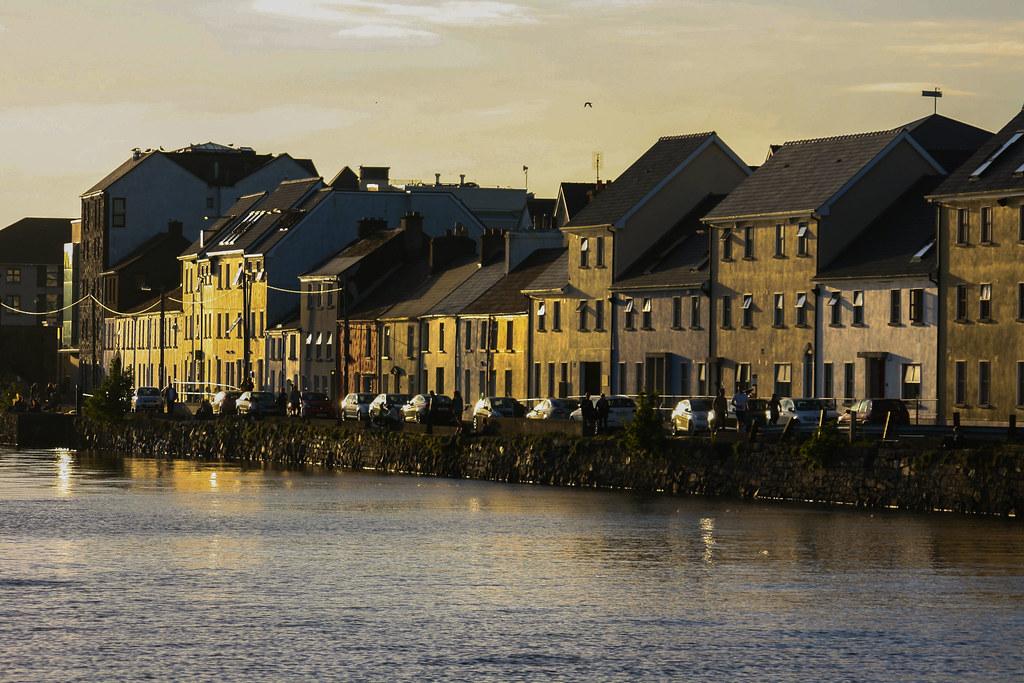 Overlooking Galway Harbour