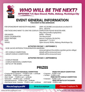 SCHEDULE AND PRIZES