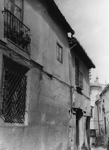 Calle del Ángel. Toledo en los años 50. Fotografía de Nicolás Muller  © Archivo Regional de la Comunidad de Madrid, fondo fotográfico
