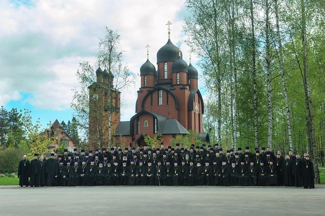 30 мая 2017 г. Общее фото духовенства Выборгской епархии
