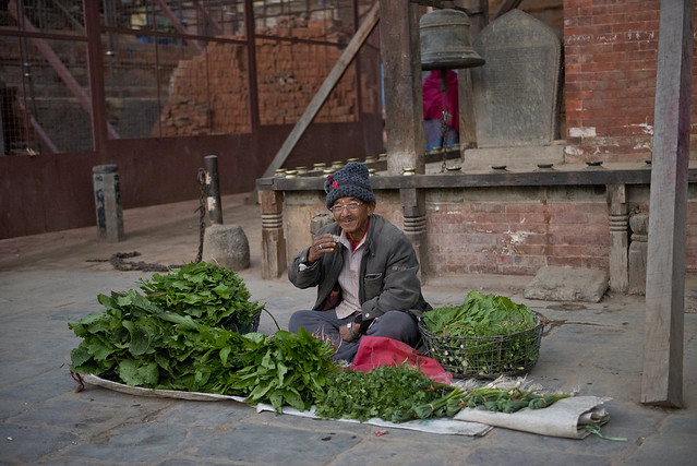 NPL - Taking a break - Patan -Nepal