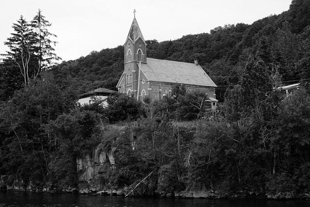 Church on a Bluff