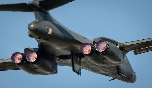 US Air Force Rockwell B1-B Lancer AF 86-0139 EL / 34th BS - Thunderbirds