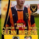 Fans Player of the Year: Glenn Murison
