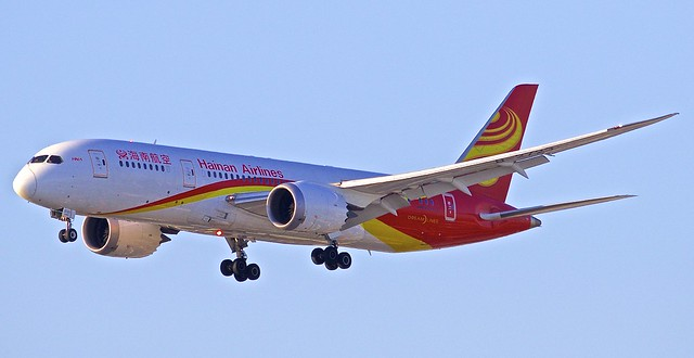 LAX/KLAX: HainanAirlines Boeing B787-8 Dreamliner B-2723