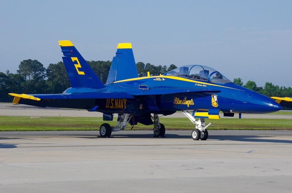 F a 18c blue angels no 2 seymour johnson afb kgsb - Seymour johnson afb swimming pool ...