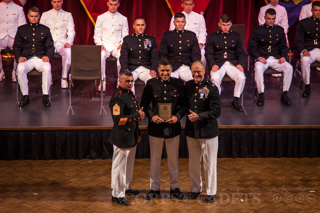 Texas A&M Naval ROTC Commissioning Ceremony 2017