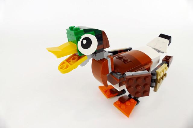 Mallard Duck -  LEGO Creator 31044 MOC